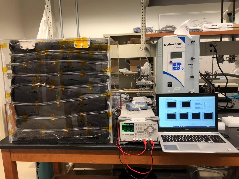 Environment chamber for heat transfer measurement